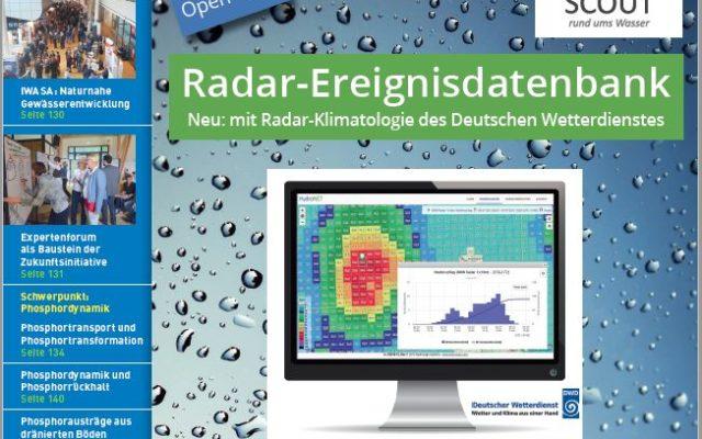 Titel: Korrespondenz Wasserwirtschaft 03/2019 mit Anzeige HydroNET-SCOUT Ereignisdatenbank